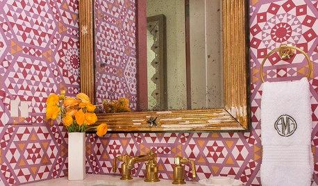 Powder Room Palettes: 10 Pinks That Pop