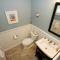 Traditional Powder Room by REEF Cape Cod's Home Builder