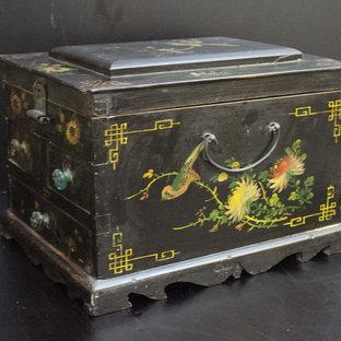 Design Ideas - Chinese Antique Boxes & Baskets- Shanghai Green Antique