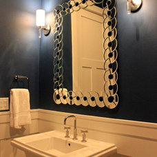 Traditional Powder Room by Fautt Homes