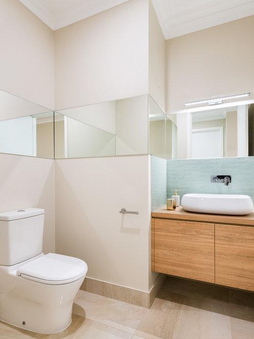 g stetoilette g ste wc mit laminat waschtisch und toilette mit aufsatzsp lkasten ideen f r. Black Bedroom Furniture Sets. Home Design Ideas