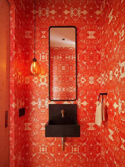 Minimalistisch Gästetoilette by CLB Architects