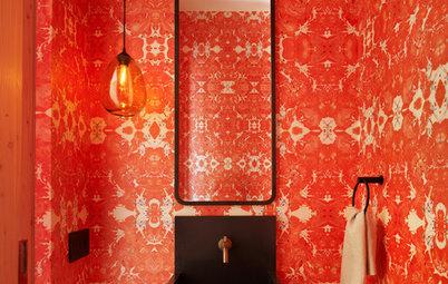 Powder Room Palettes: 10 Radiant Reds