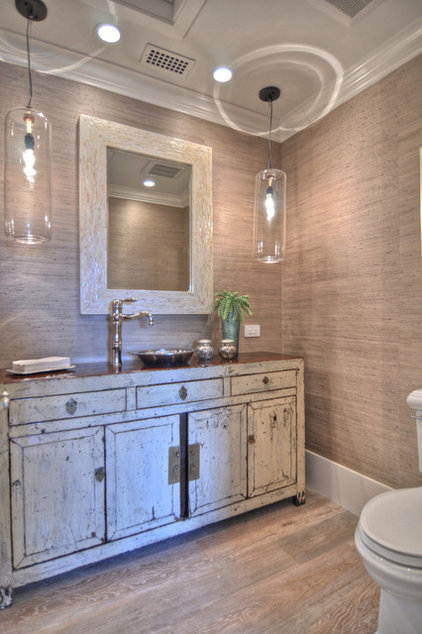 Traditional Powder Room by Details a Design Firm