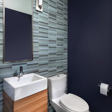 Contemporary Powder Room by Rossington Architecture
