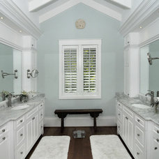 Traditional Powder Room by Design Studio by Raymond