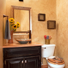 Traditional Powder Room by Decorating Den Interiors- Corporate Headquarters