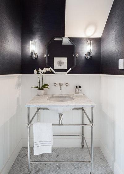 トランジショナル トイレ・洗面所 by In Residence - Kitchen, Bathroom, Hardware