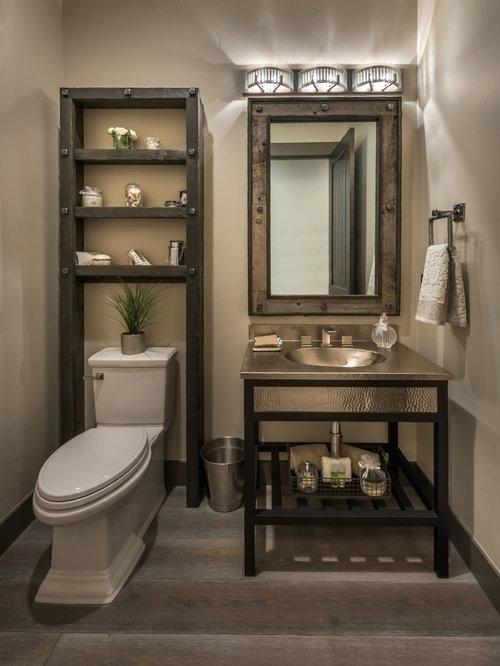 g stetoilette g ste wc rustikal ideen f r g stebad und g ste wc design houzz. Black Bedroom Furniture Sets. Home Design Ideas