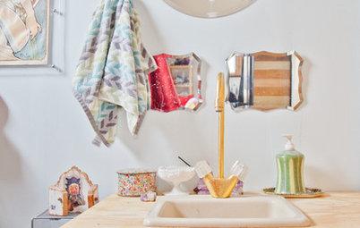 10 astuces gain de place pour une salle de bains fonctionnelle. Black Bedroom Furniture Sets. Home Design Ideas