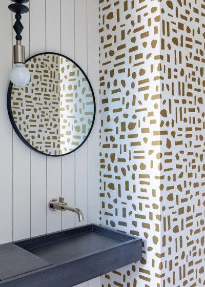 Ретро Туалет by Carmit Oron Interior Design