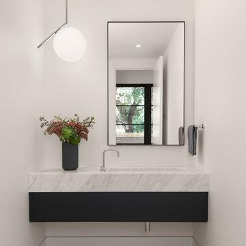 Elegant Modern Powder Room