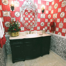 Eclectic Bathroom by Interior Styles, Inc.