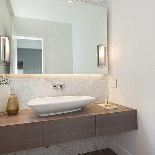 Photos et idées déco de WC et toilettes avec du carrelage en marbre