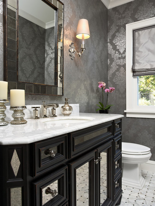 Powder Room Decor best 100 traditional powder room ideas & remodeling pictures | houzz