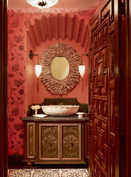 Traditional Powder Room by Tucker & Marks