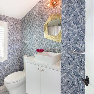 75 best mid-century modern powder room pictures & ideas