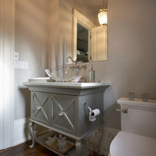 Traditional Powder Room by Parkyn Design