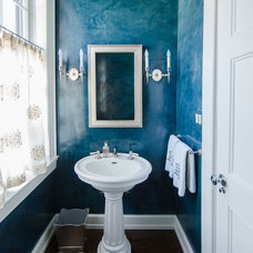 Traditional Powder Room by Elena Phillips Interiors