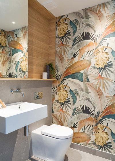 Современный Туалет by Watershed Design