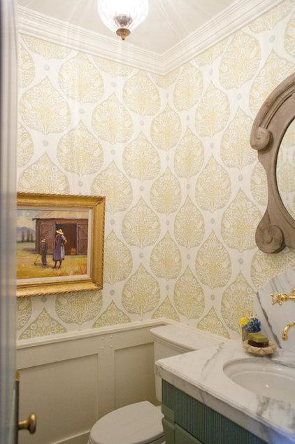 Traditional Powder Room by Harman Wilde