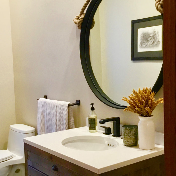 Farm House Powder Room
