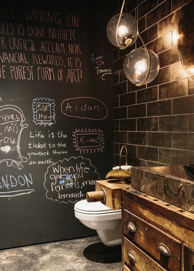 Industriel Toilettes by Raad Studio