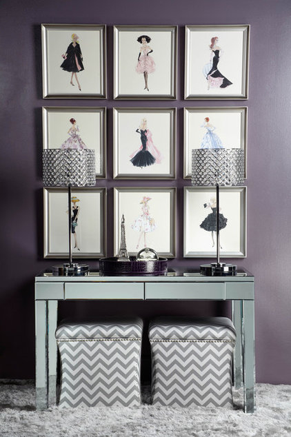 Contemporary Powder Room by Z Gallerie