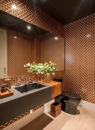 Contemporain Toilettes by DESIGN SOLUTIONS