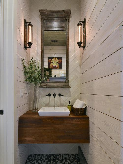 Foto e Idee per Bagni di Servizio - bagno di servizio con piastrelle ...