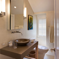 contemporary powder room by Polhemus Savery DaSilva