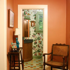 Traditional Powder Room by Sargent Design Company