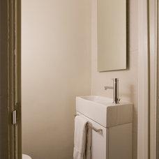Modern Powder Room by FORMA Design