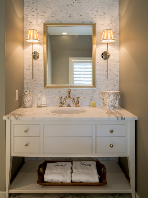 Best Traditional Powder Room Design Ideas & Remodel Pictures | Houzz