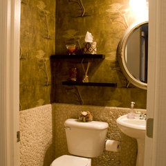 powder room by DIVA INTERIOR CONCEPTS