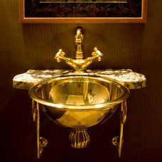 Traditional Powder Room by Kitchen Classics - Charles Heller
