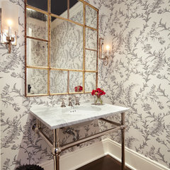traditional powder room by Streeter & Associates, Renovation Division