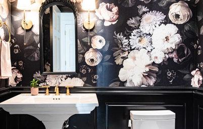 Powder Room Palettes: 10 Beauties in Black