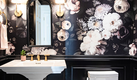 Powder Room Palettes: 10 Beauties in Black