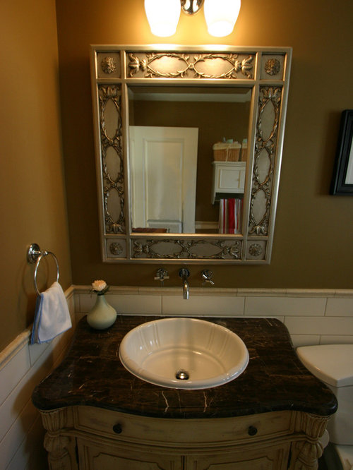 Houzz Before And After Powder Room Design Ideas