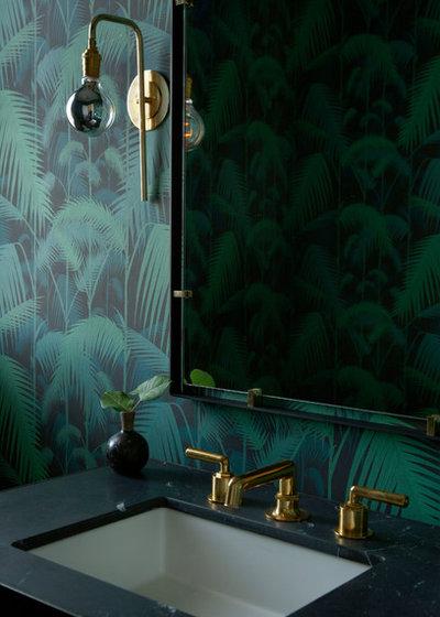 Nyklassisk Lille badeværelse by BLACK & POOLE
