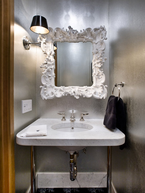 Painted Mirror Home Design Ideas, Pictures, Remodel and Decor