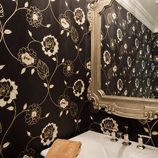 Contemporary Powder Room by Peter A. Sellar - Architectural Photographer