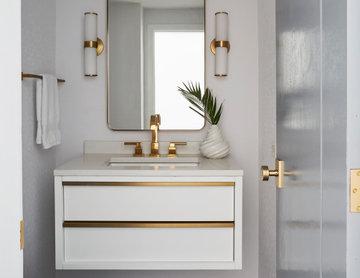 Gorgeous Modern Kitchen & Powder Room Remodel