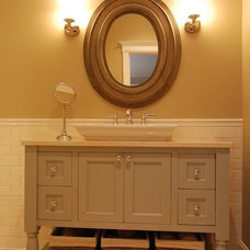 Traditional Powder Room by Kitchens & Baths Unlimited