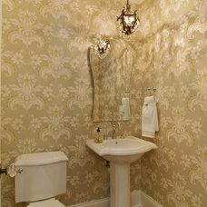 Traditional Powder Room by Great Neighborhood Homes