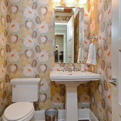 contemporary powder room by Great Neighborhood Homes