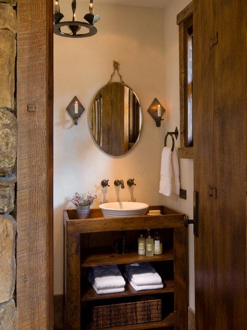 Rustic Powder Room Design Ideas Remodels Amp Photos