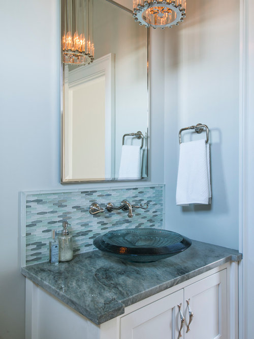 Best Beach Style Providence Powder Room Design Ideas ...