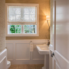 Traditional Powder Room by Oliver Designs